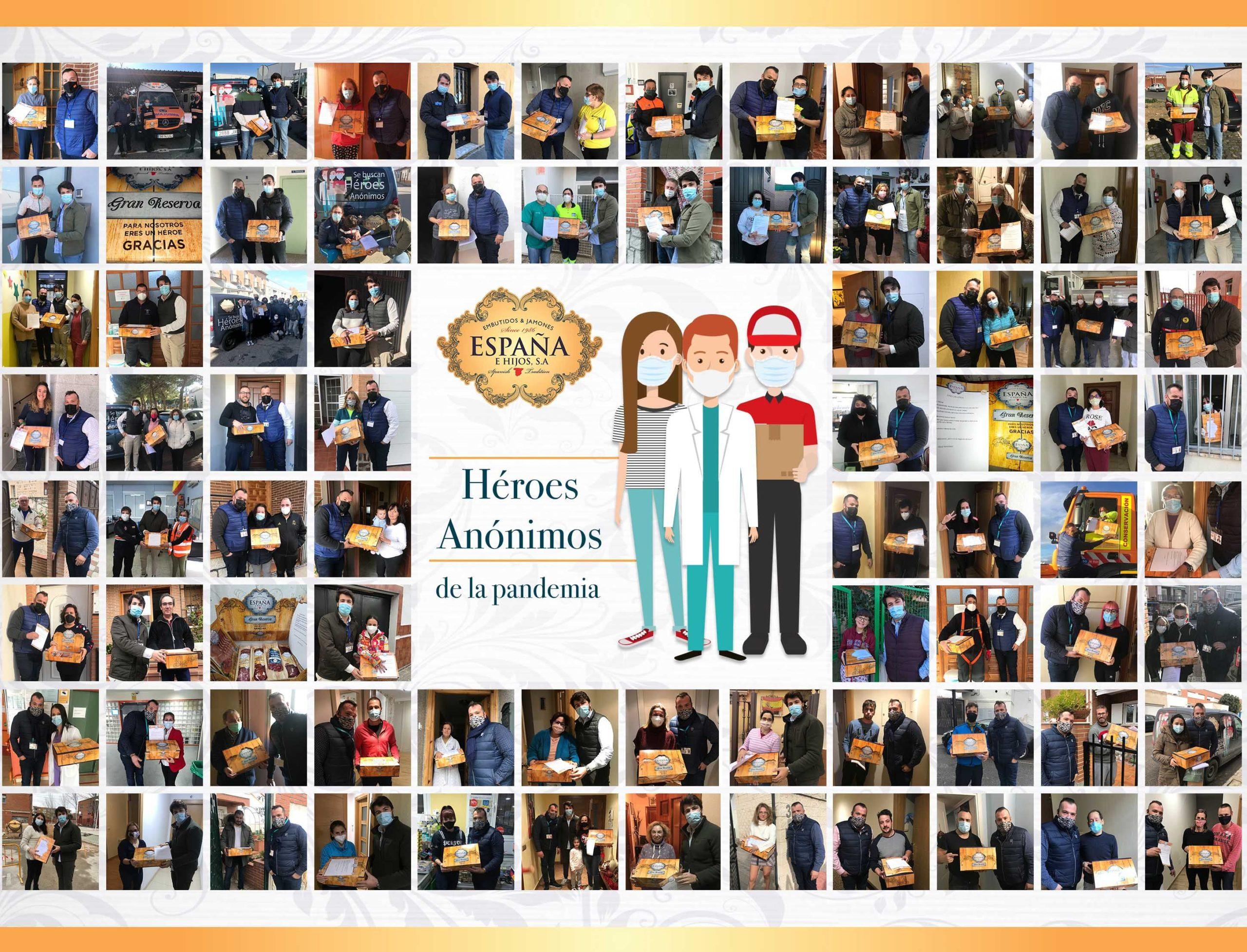 Embutidos España dona el 10% de la venta de los lotes solidarios a FESBAL