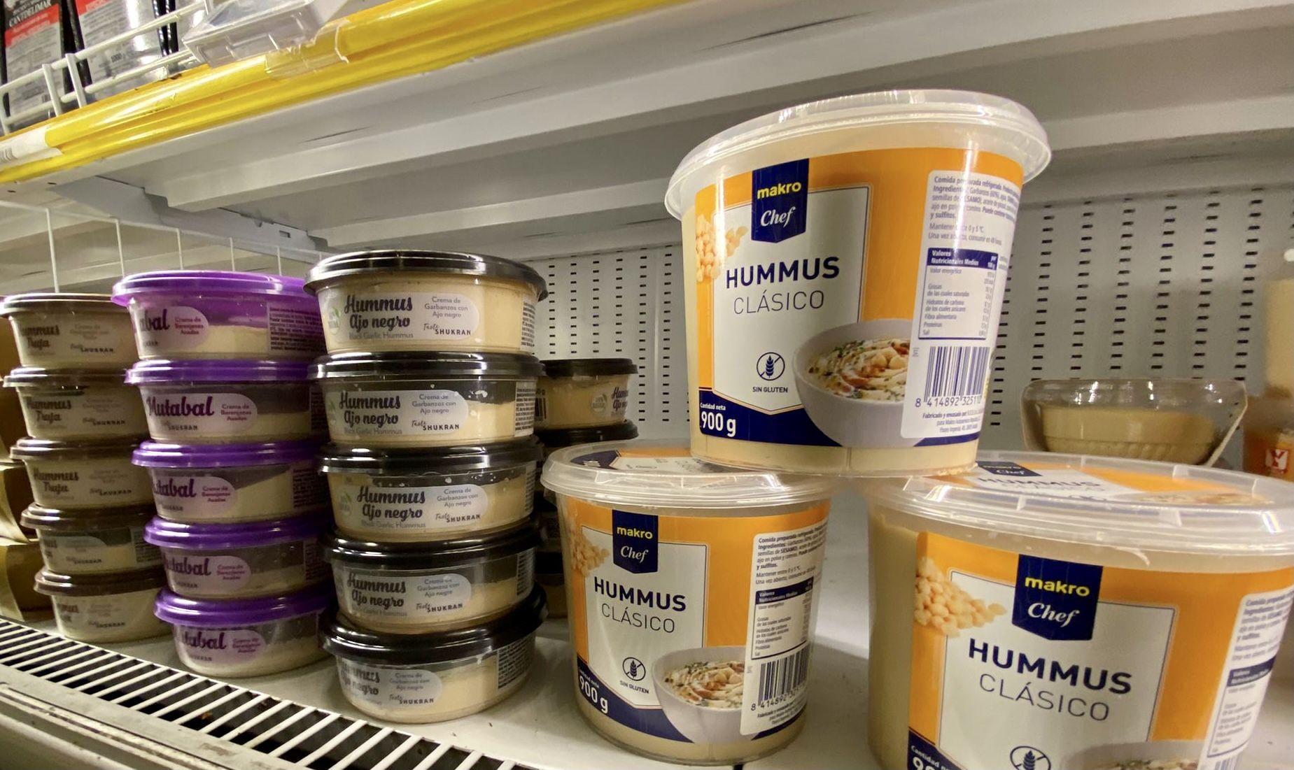 Los hummus de Taste Shukran ya están disponibles en Makro