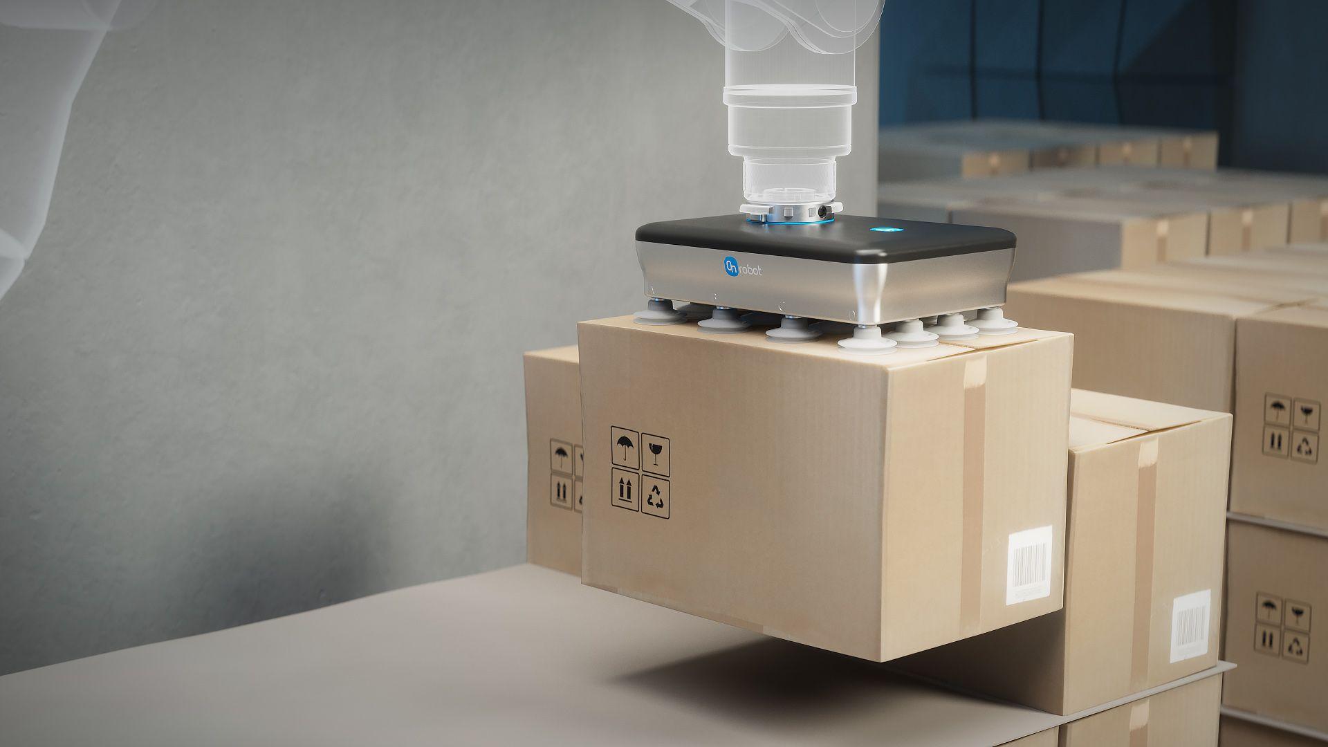 OnRobot lanza la pinza eléctrica de vacío más potente del mundo para aplicaciones intensivas de paletizado