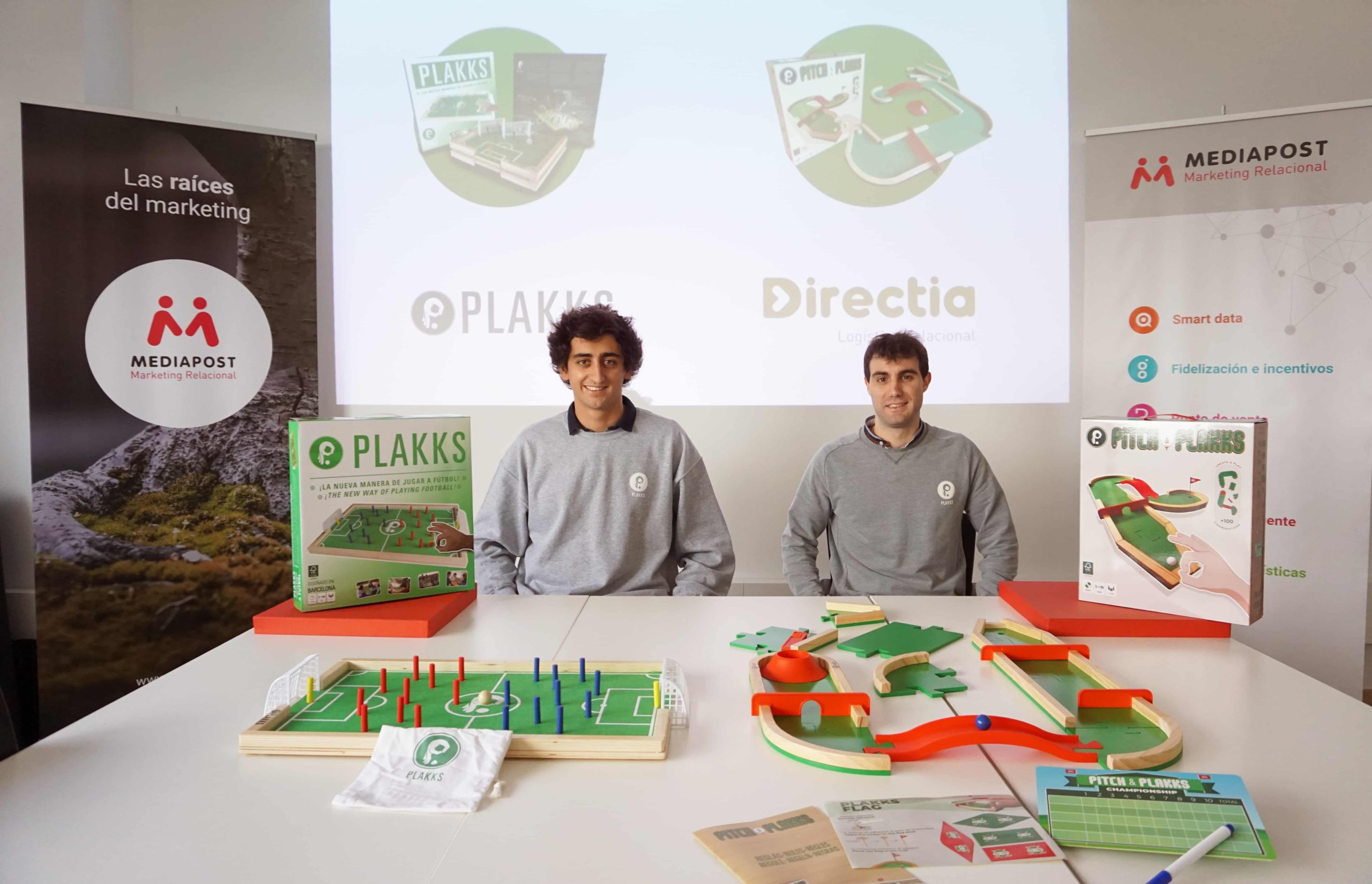 Plakks, la startup de juegos de mesa deportivos, apuesta por Directia para la logística de su ecommerce