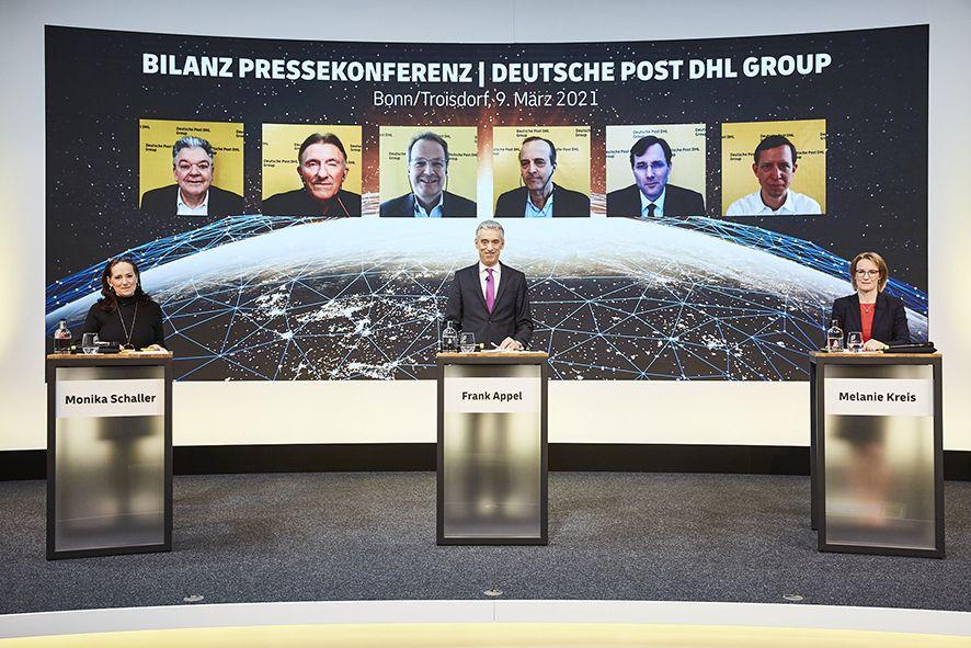 Foto de Presentación de resultados de Deutsche Post DHL