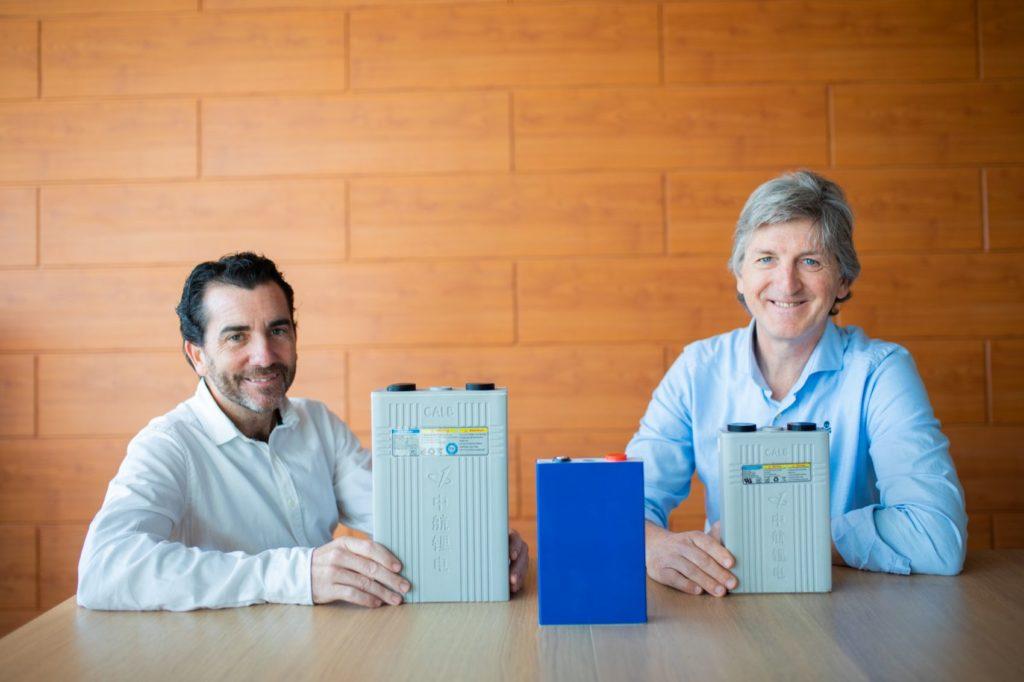 Foto de Andel Muelas y Carlos Navarro, fundadores de Endurance Motive