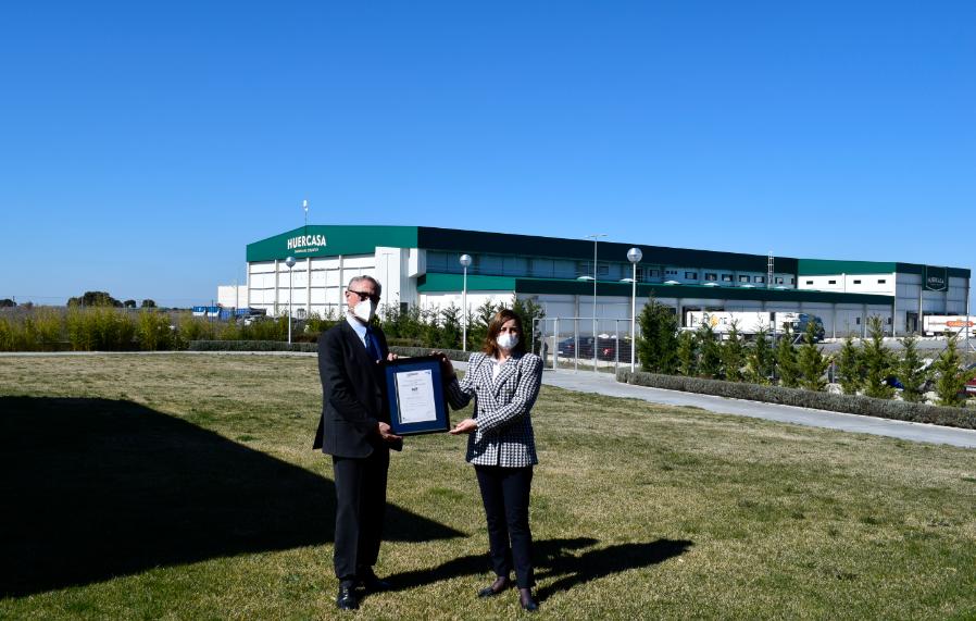 Huercasa, primera empresa de Castilla y León en certificar su Estrategia en Sostenibilidad con AENOR