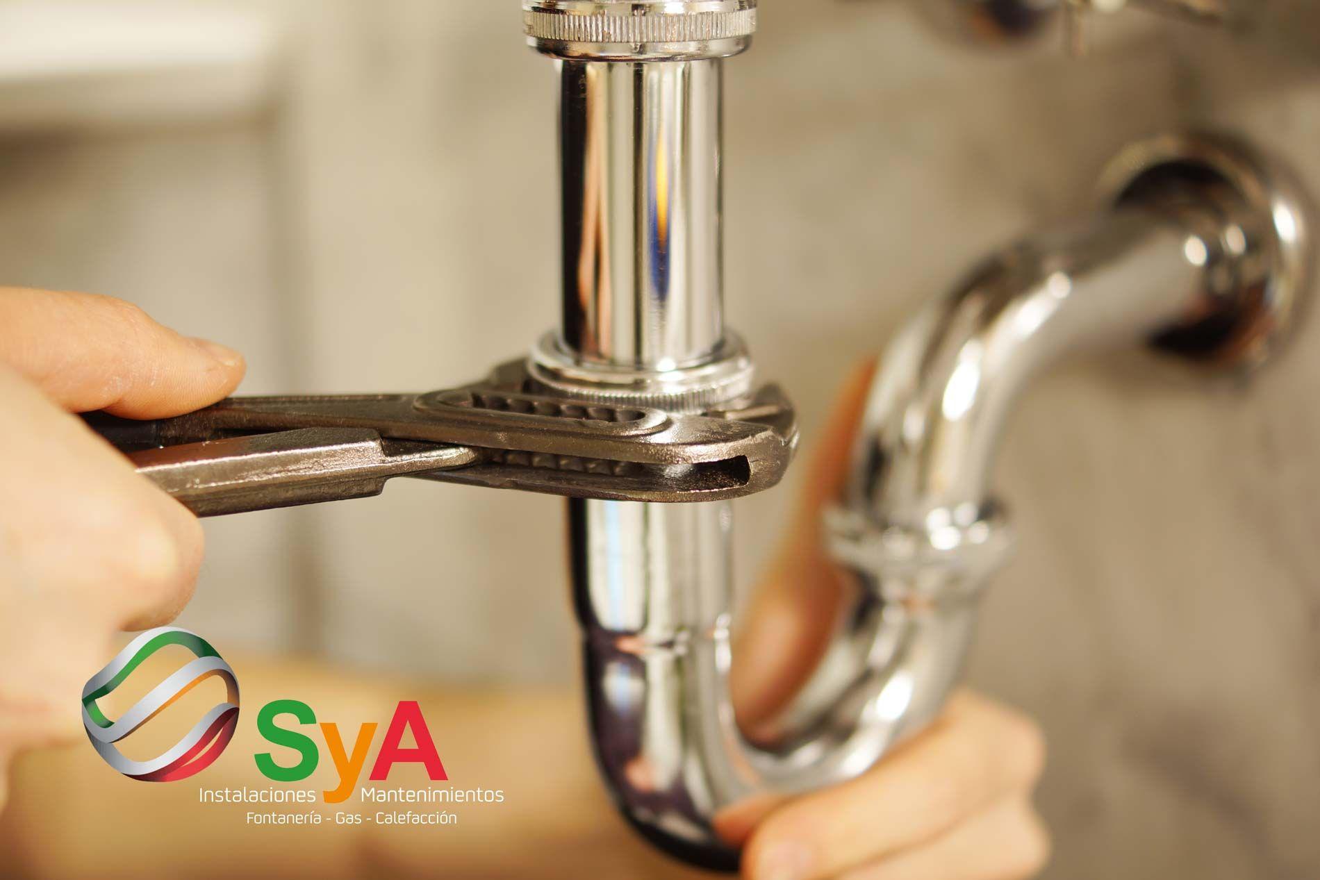 SYA Instalaciones cuenta con un servicio de fontanería que se adapta a las necesidades de cada cliente