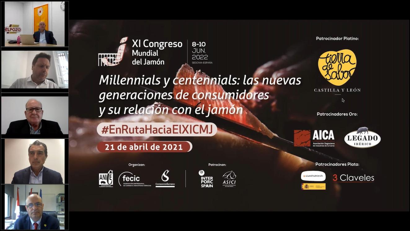Millennials y centennials asocian el consumo de jamón con la felicidad