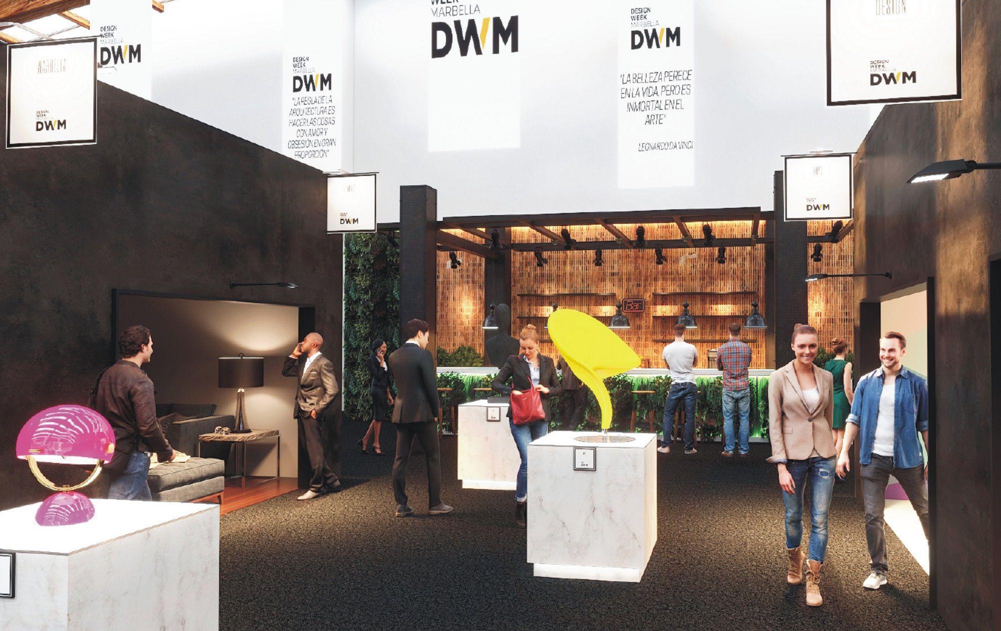 DESING WEEK MARBELLA. El evento internacional del interiorismo y la arquitectura celebra su primera edición