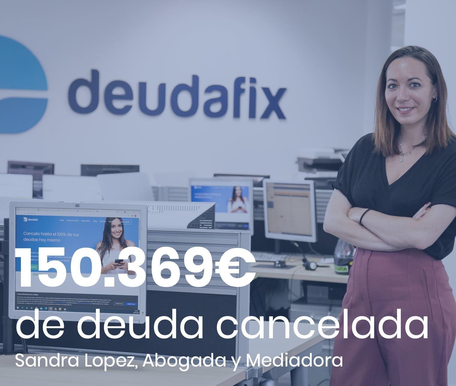 Deudafix cancela 150.369 euros con la Ley de la Segunda Oportunidad