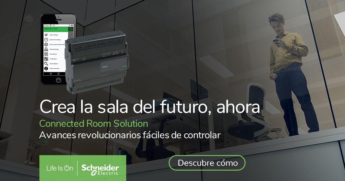 Edificios y hoteles preparados para el futuro, con las Connected Room Solution de Schneider Electric