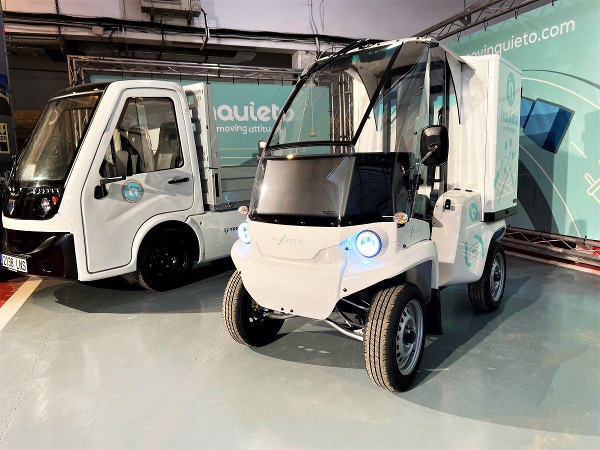 GAM sustituye sus furgonetas de última milla por vehículos cero emisiones de Inquieto