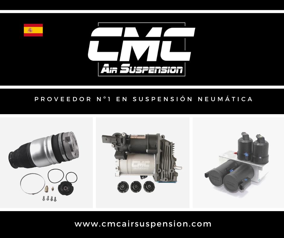 CMC Air Suspension, primera marca Española especializada en suspensión neumática