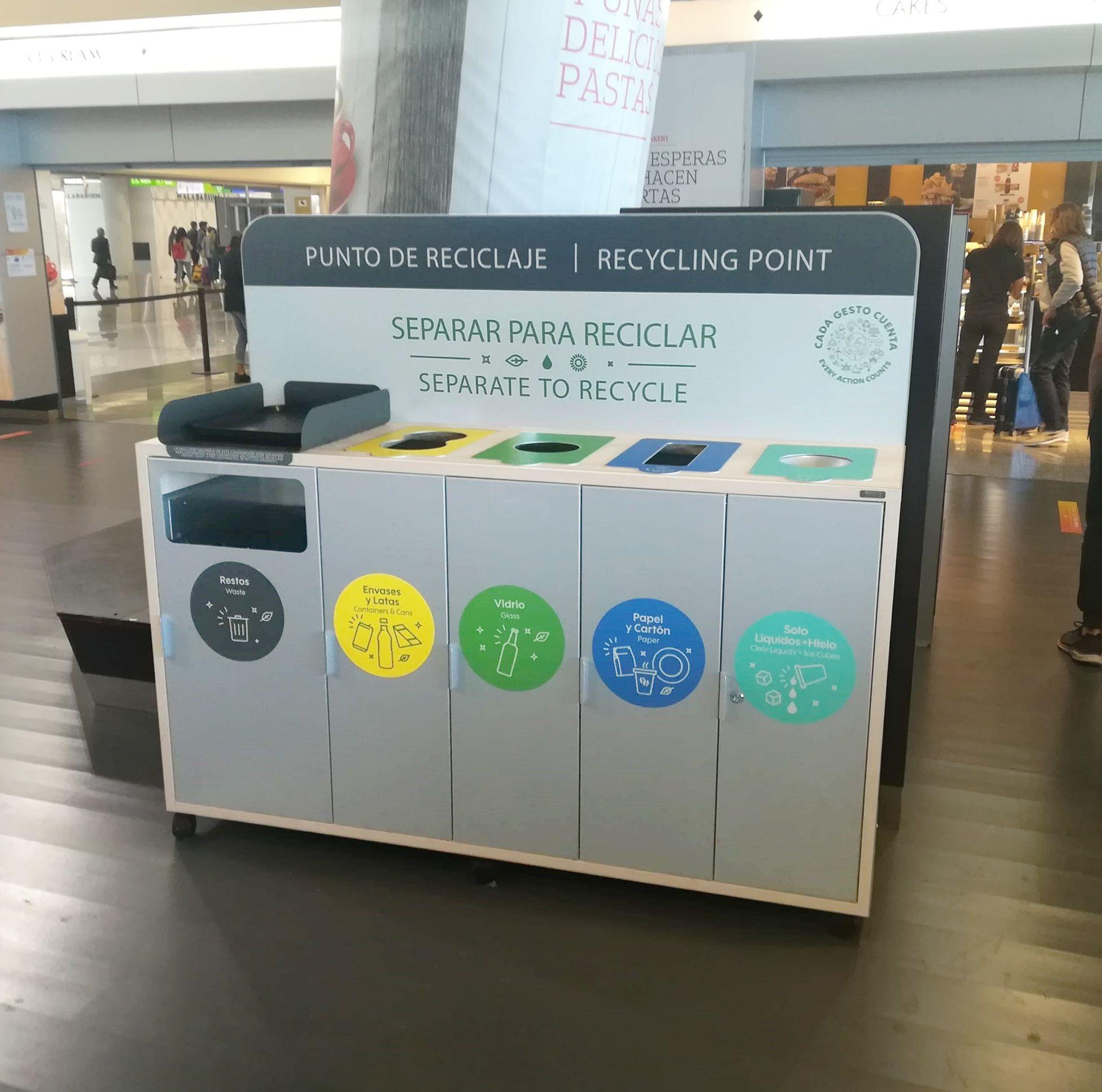Cervic Environment desarrolla el nuevo mobiliario para el reciclaje en los establecimientos de Areas