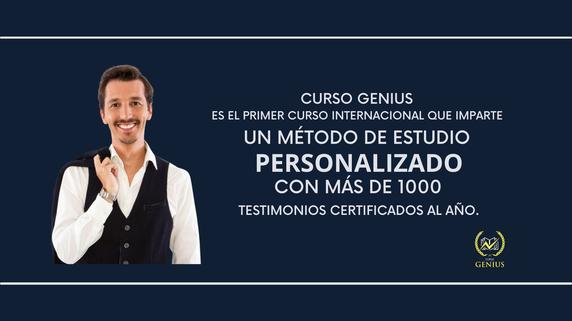Curso Genius, la experiencia al servicio de los estudiantes