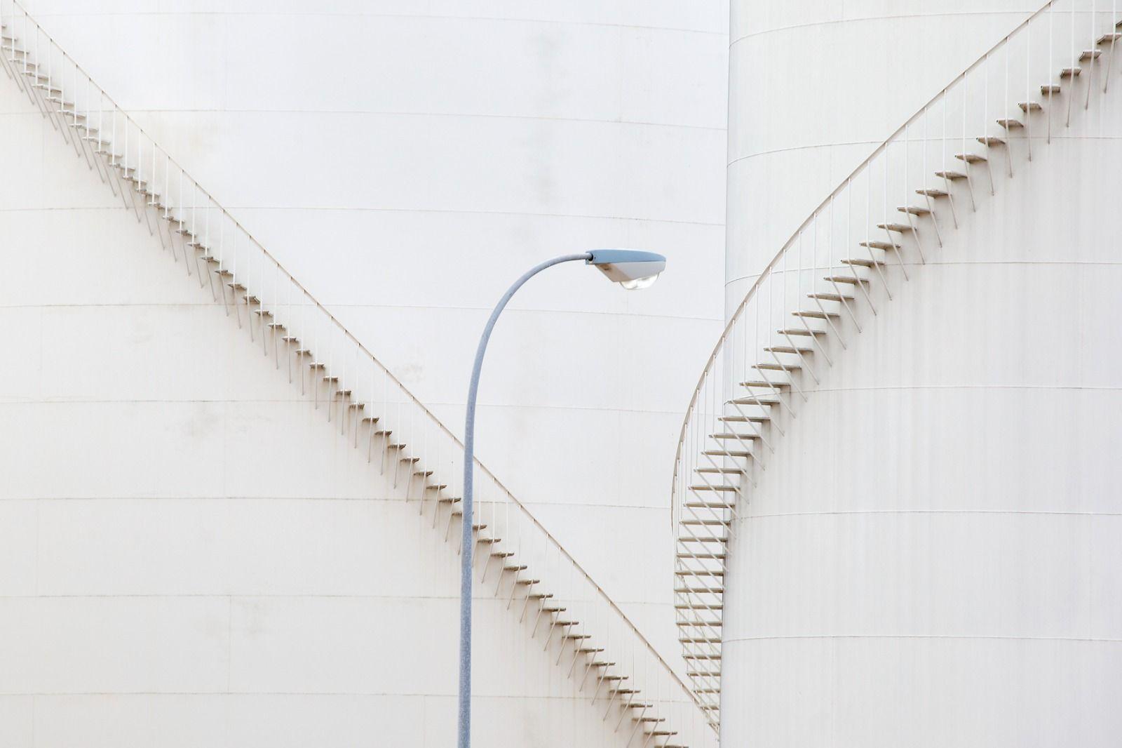 'Escaleras', mejor fotografía del concurso 'La provincia de Ciudad Real a través de su arquitectura'