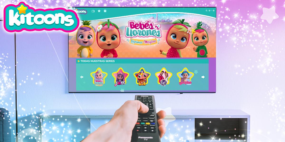IMC Toys, primera juguetera del mundo en lanzar una plataforma de streaming bajo demanda