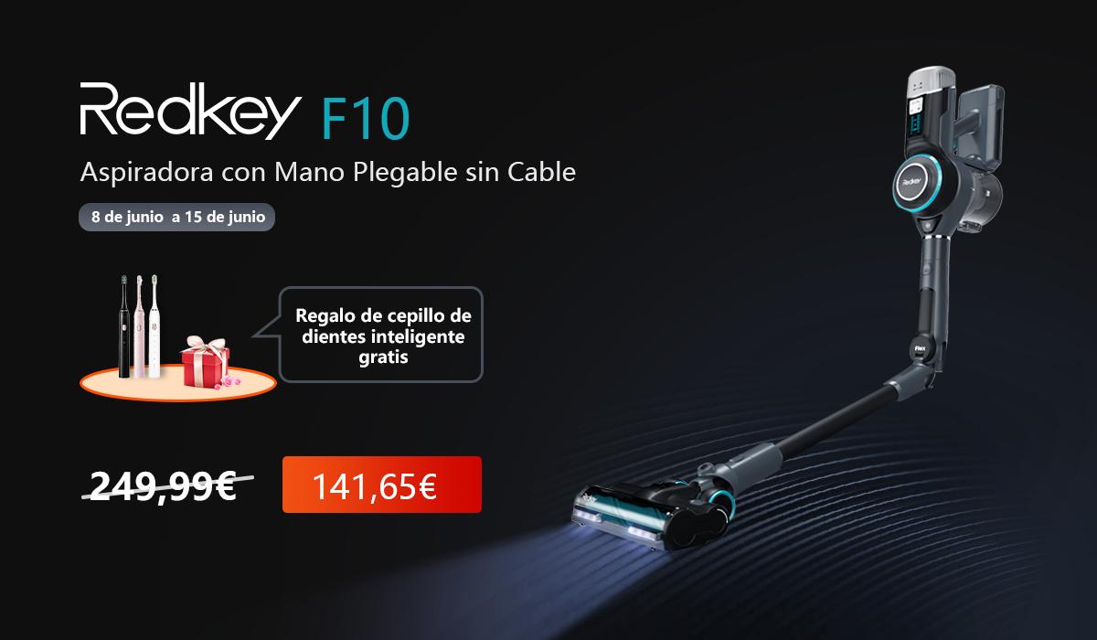 La aspiradora plegable inalámbrica de mano Redkey F10 viene a revolucionar el mercado