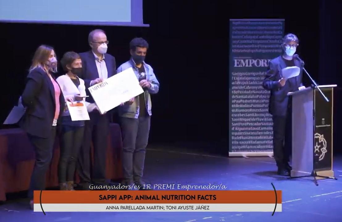 Sappi App: La aplicación de alimentación animal ganadora del Premio Emprendedor Alt Empordá 2021