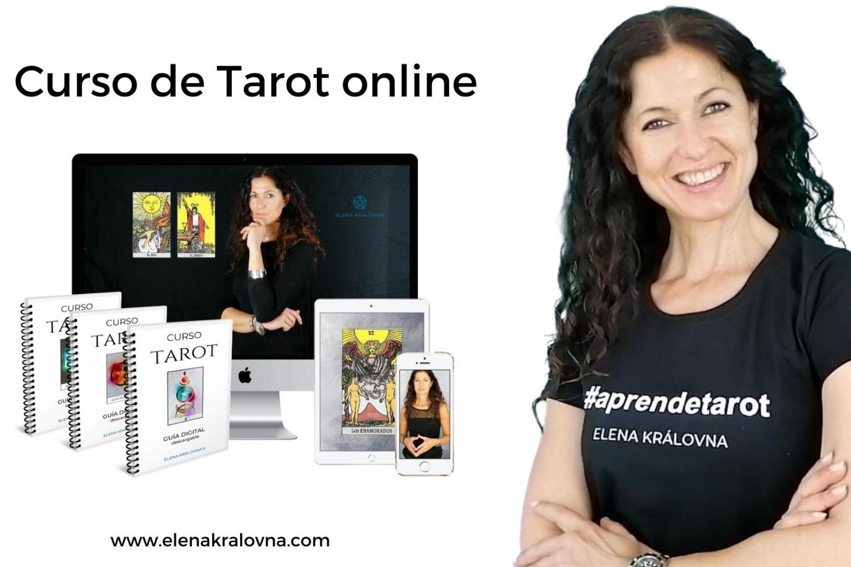 Curso online completo de Tarot: Elena Kralovna