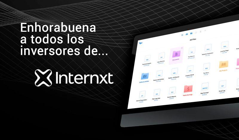 Angels compra las participaciones en Internxt a 31 inversores de SociosInversores.com