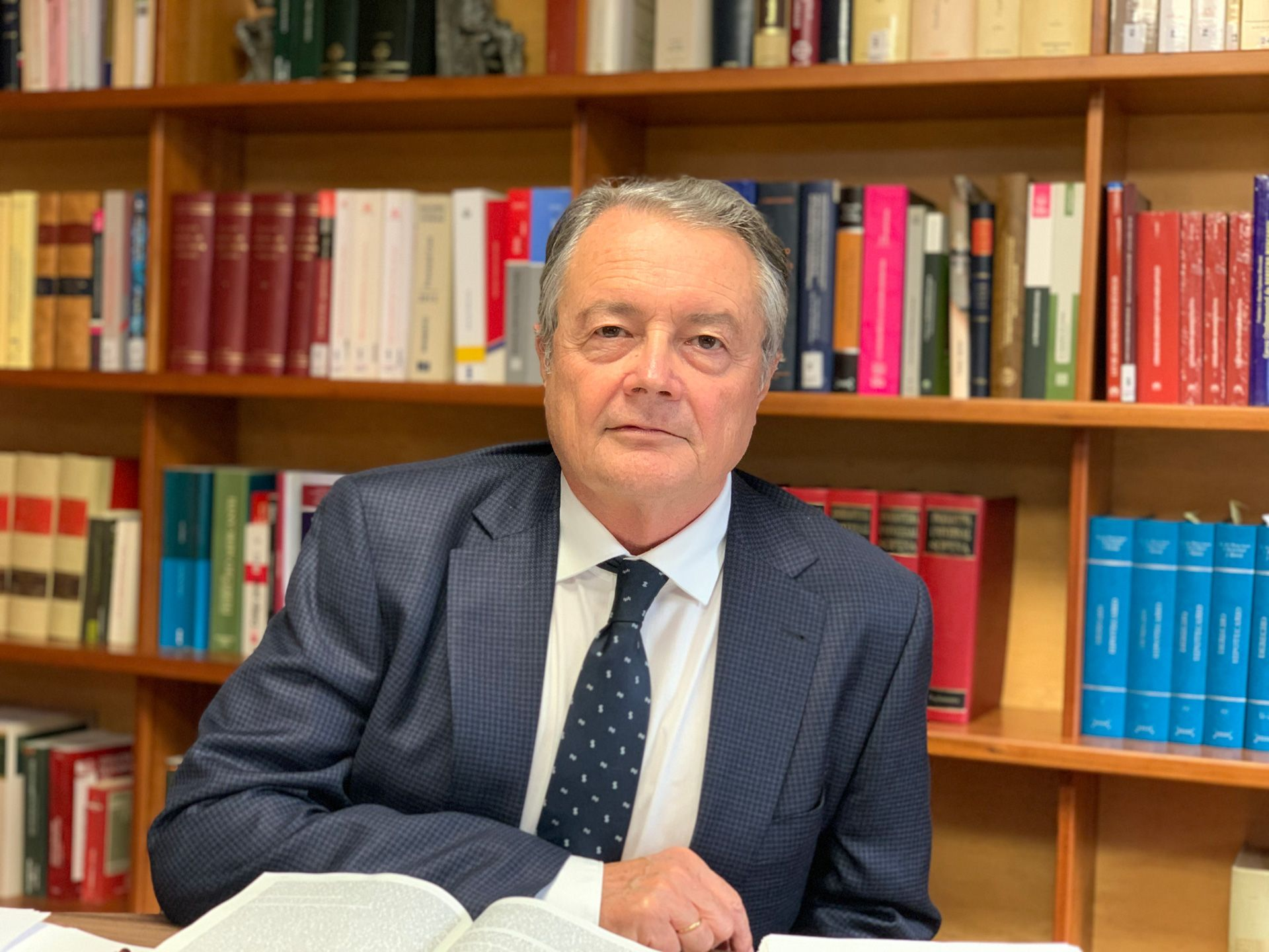 Antonio Salas Carceller, ex magistrado del Tribunal Supremo, consultor externo de Ginés Riquelme Abogados