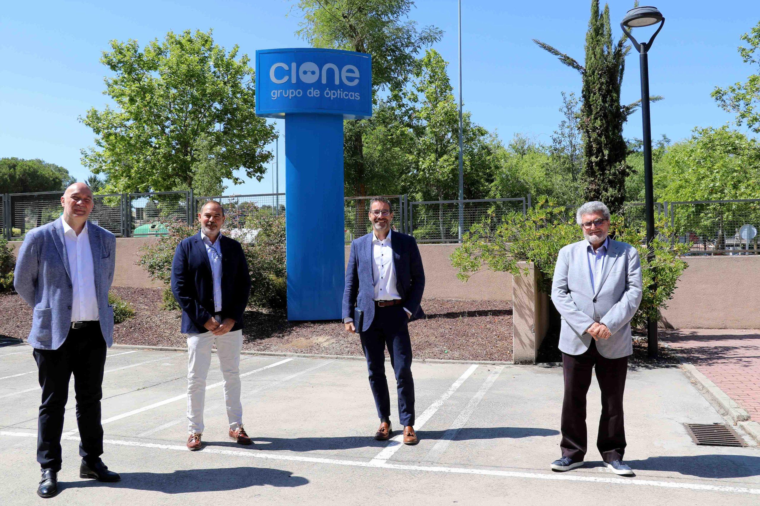 Cione y ZEISS refuerzan su alianza estratégica