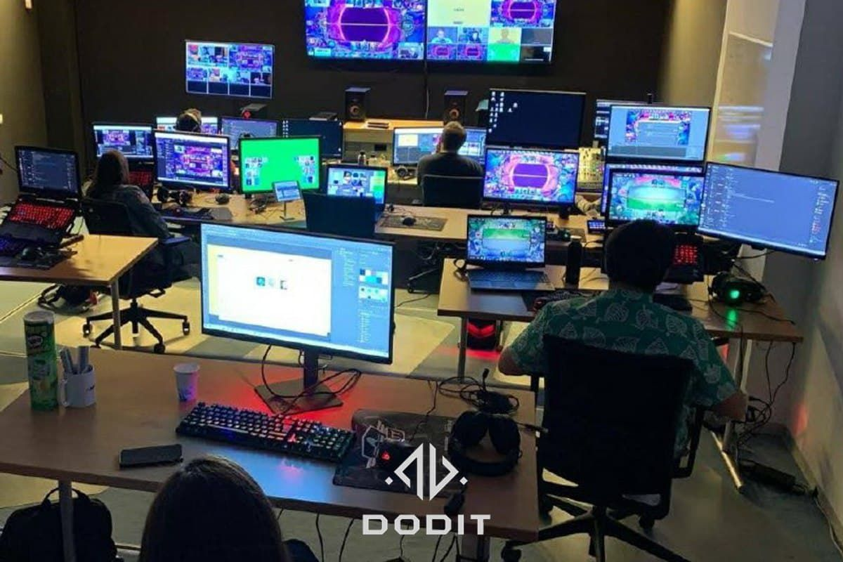 DODIT, realiza más de 300 retransmisores de contenidos de esports para países de tres continentes