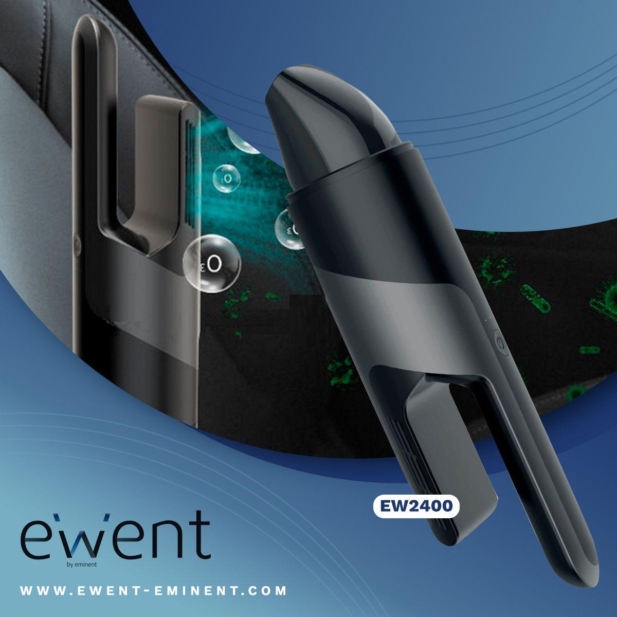 Ewent recomienda el aspirador para coche con desinfección por ozono