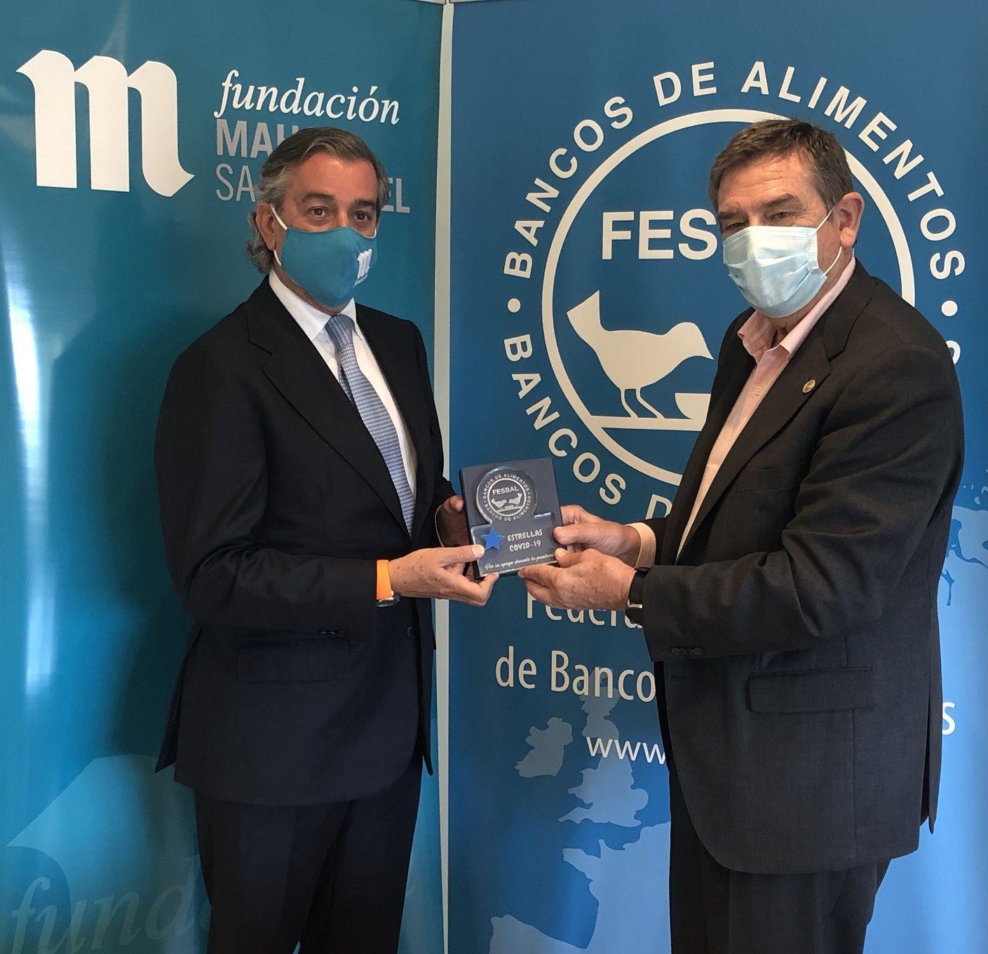 """Fundación Mahou San Miguel recibe el reconocimiento """"Premios Estrellas"""" FESBAL"""