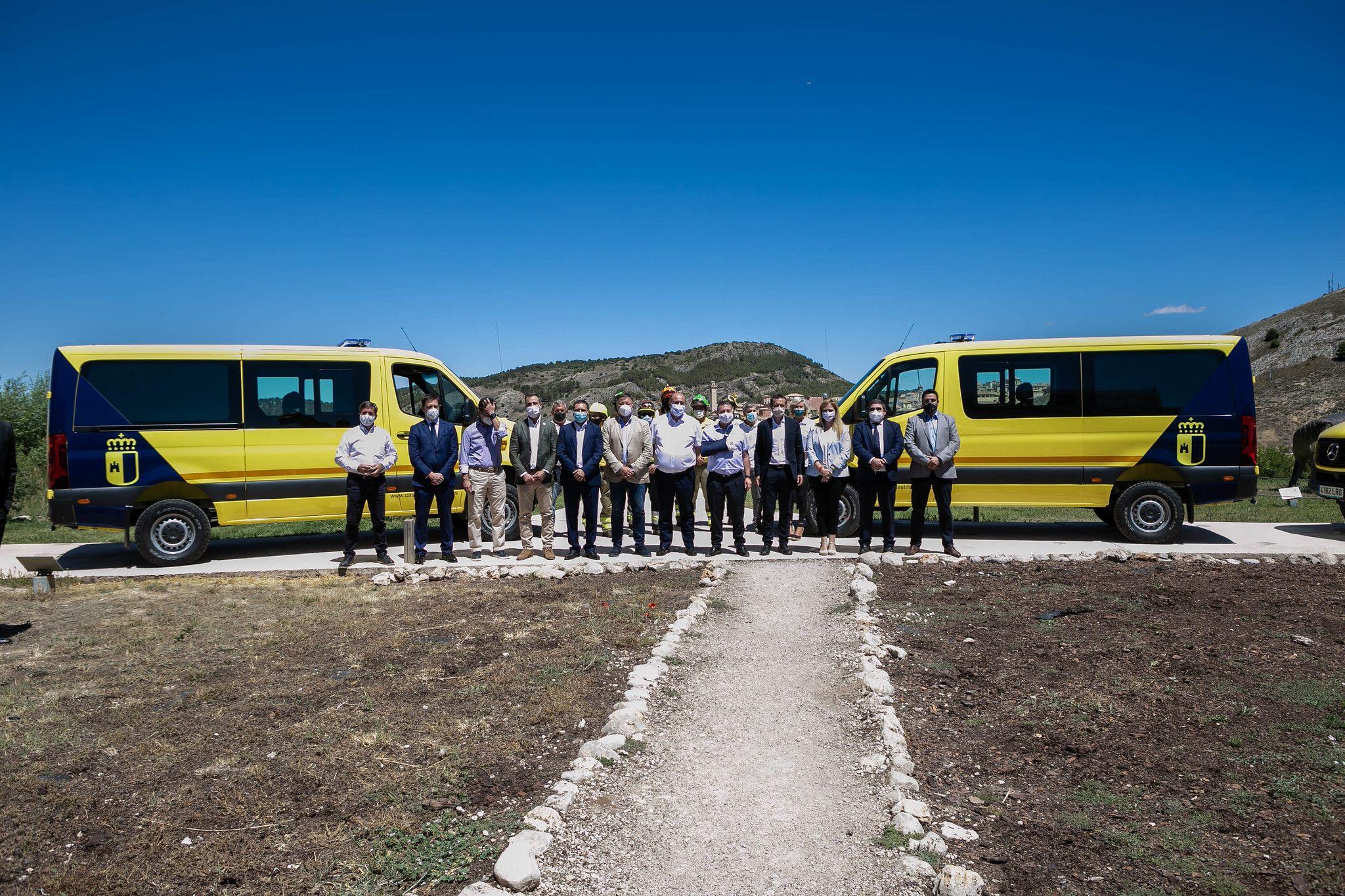 Northage proveerá a GEACAM de vehículos de renting flexible para la extinción de incendios