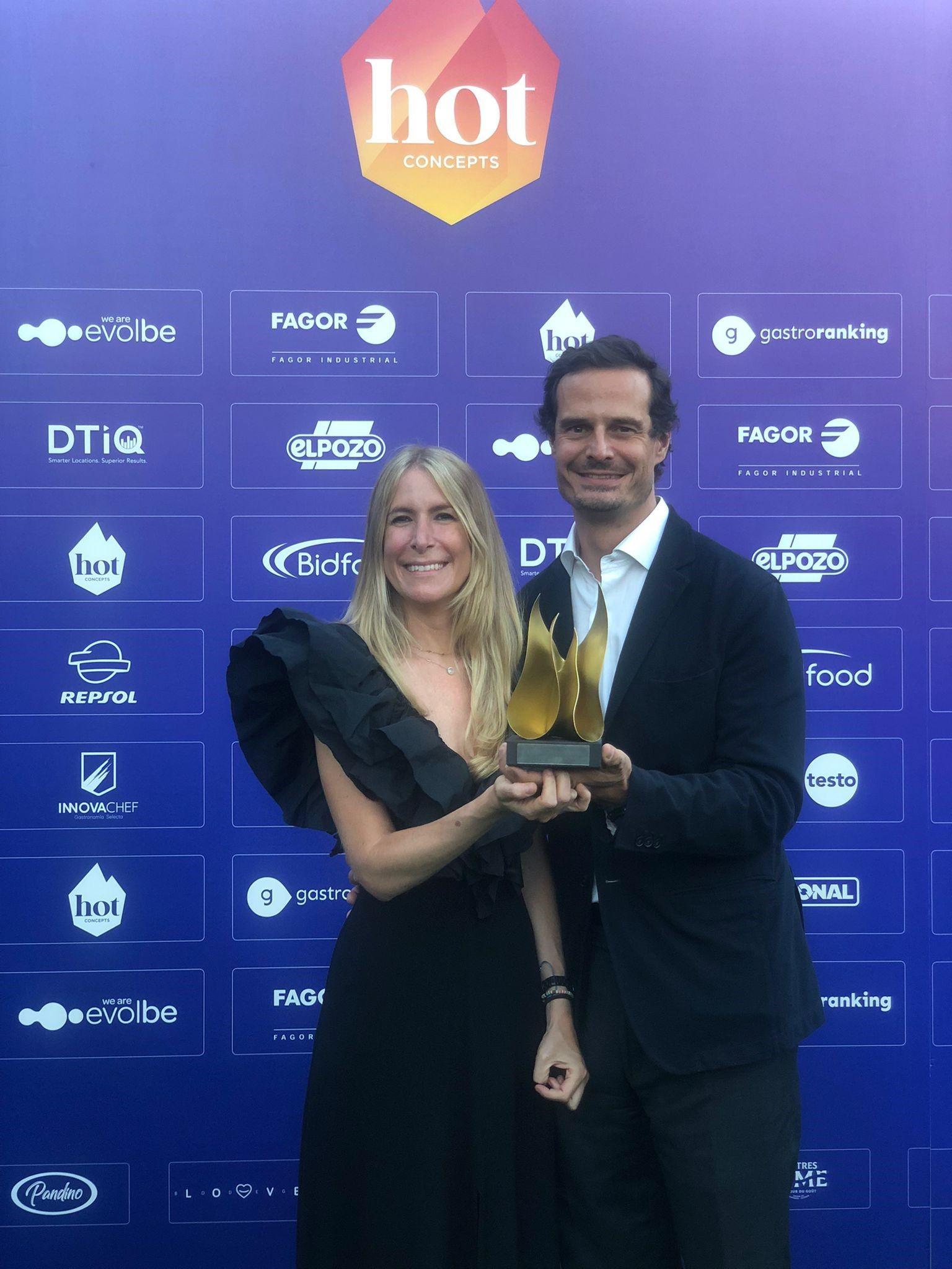 Oído Cocina Gourmet recibe el premio a la Restauración en Centros Comerciales