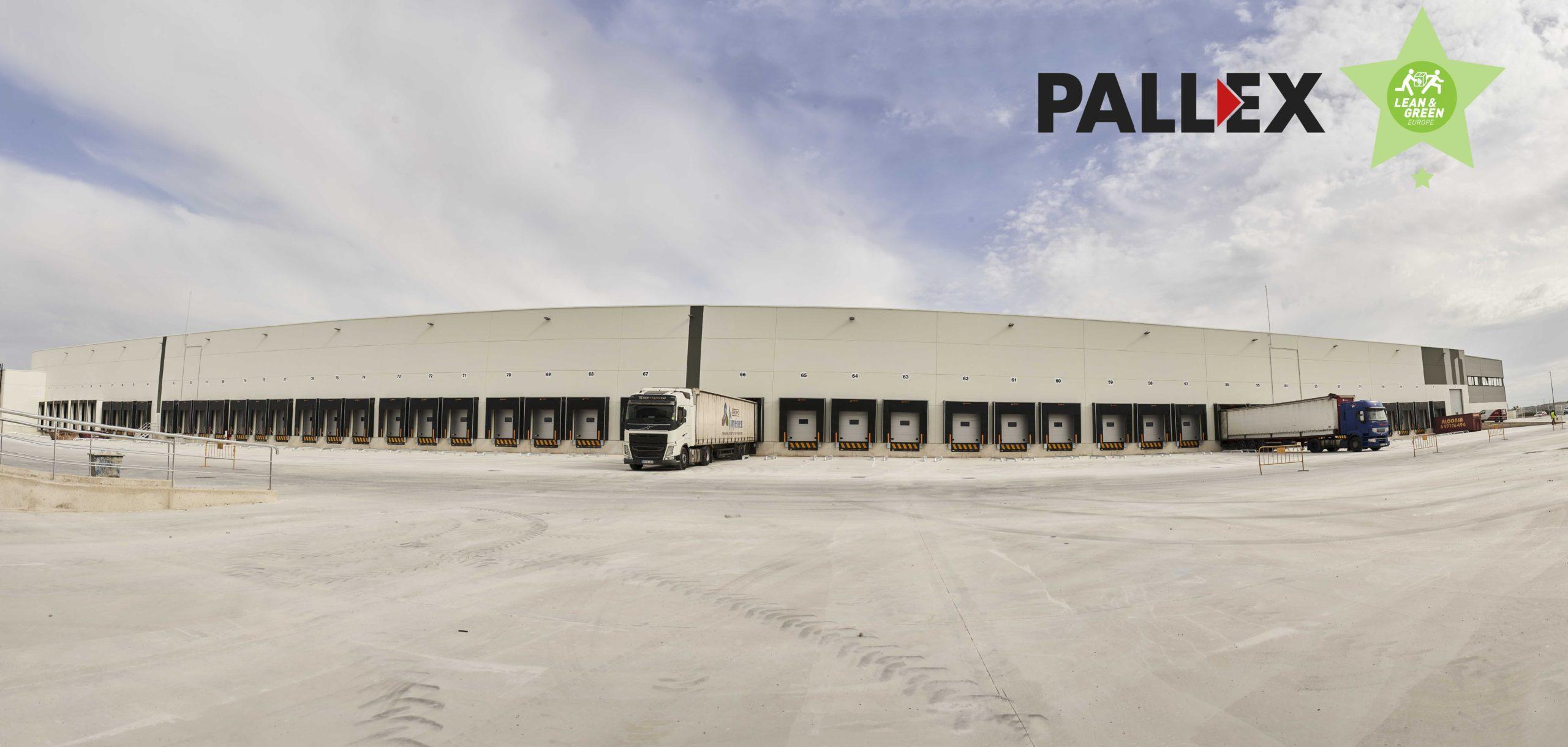Pall-Ex Iberia recibe la Estrella Lean&Green tras reducir más de un 30% sus emisiones de CO2