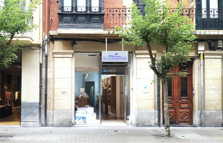Foto de Nueva tienda Frinsa la Conservera en Bilbao