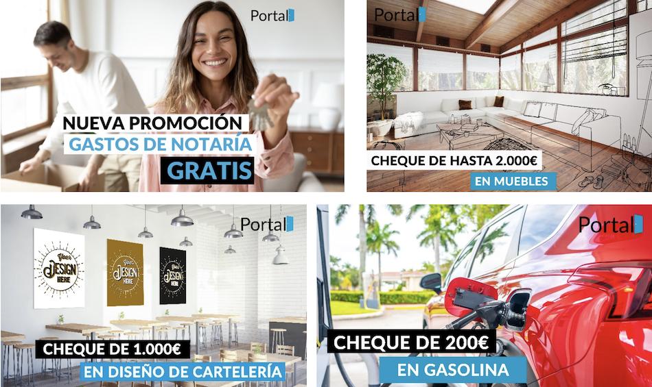 Portal Now lanza este año su 3ª campaña de ayudas en más de 600 inmuebles