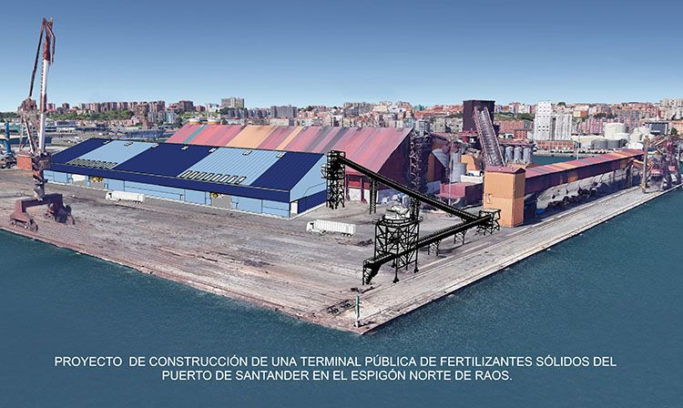 CALERO INDAISA adjudicataria de la fabricación, suministro y montaje de la mayor planta portuaria de España