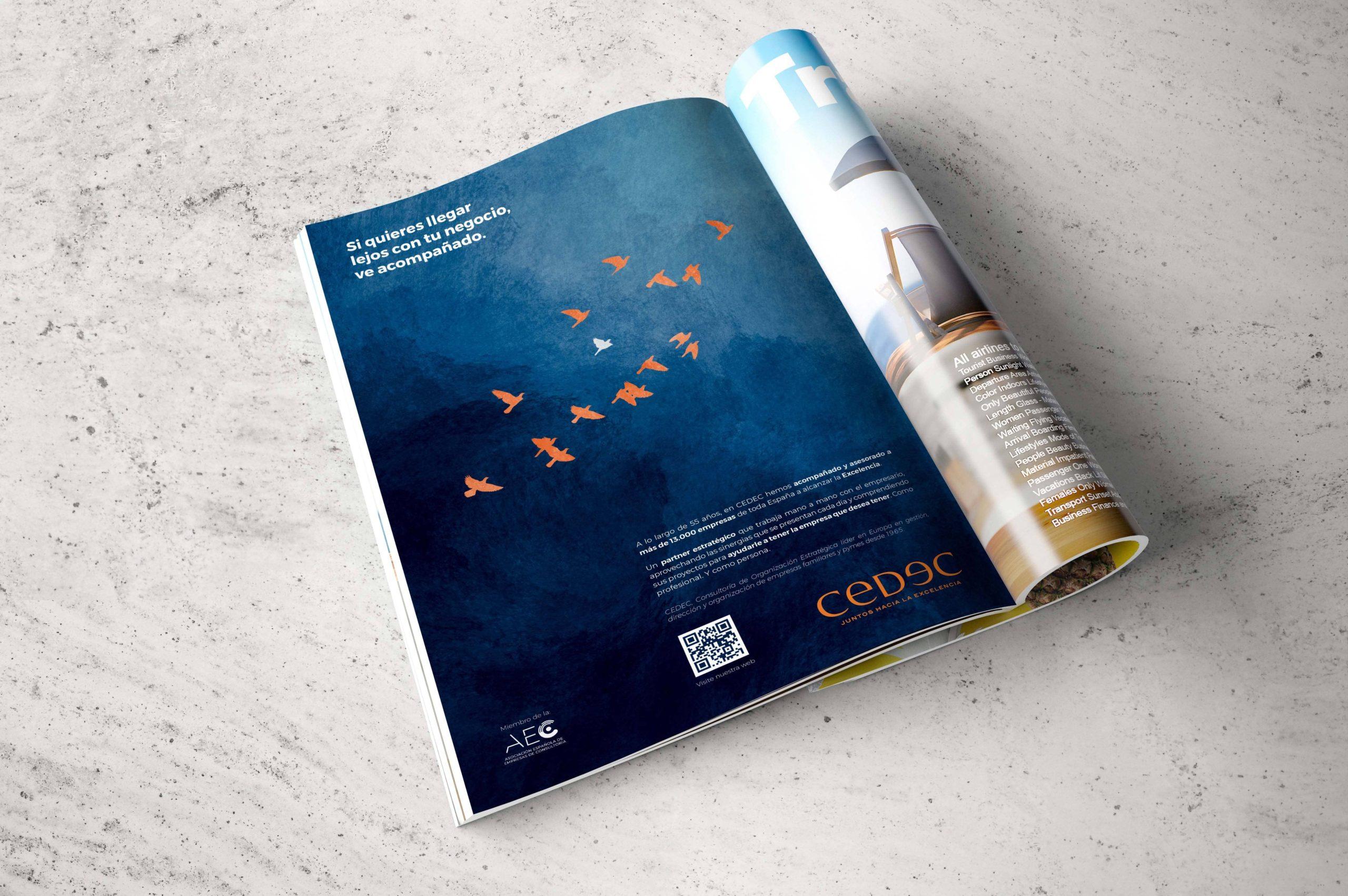 La Bendita Agencia crea la nueva campaña publicitaria de la consultoría estratégica de empresas CEDEC