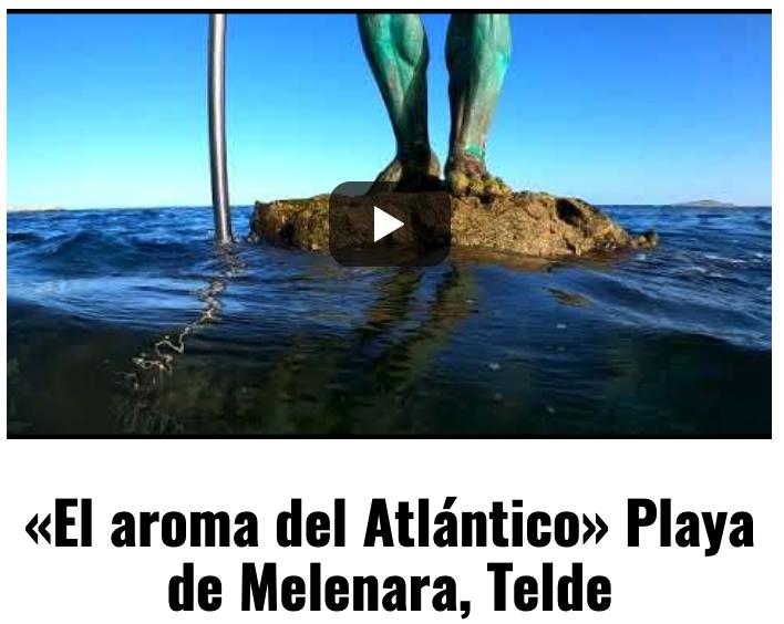 Melenara, una playa de arena volcánica en Telde, Gran Canaria, de la que se hace eco Sal del Atlántico