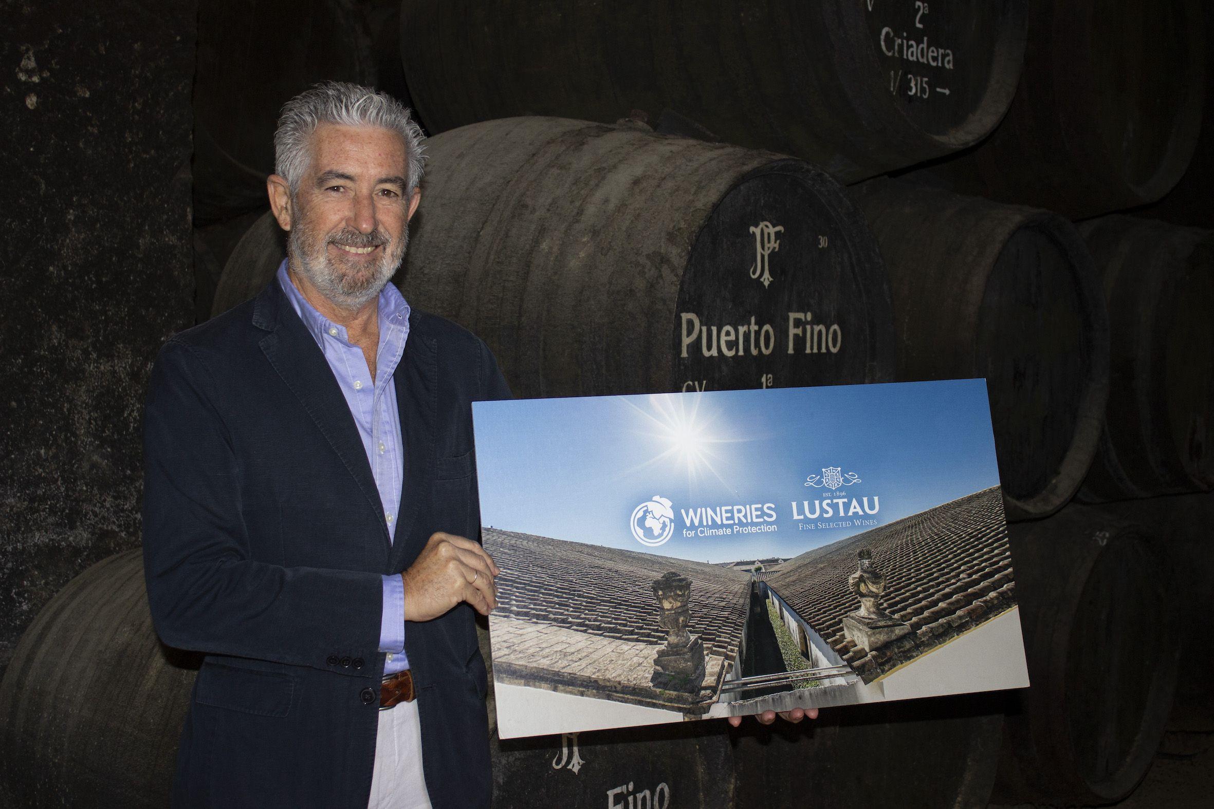 """Bodegas Lustau obtiene el certificado """"Wineries for Climate Protection"""""""