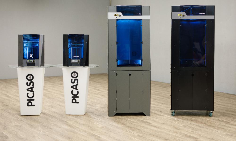 Las impresoras 3D profesionales PICASO llegan a España de la mano de StudyPLAN