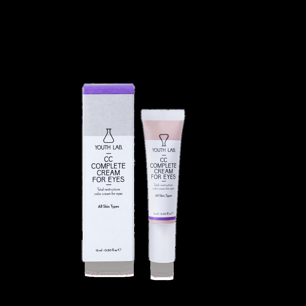 Youth Lab presenta su gama de CC Cream hidratantes, para cara y contorno de ojos